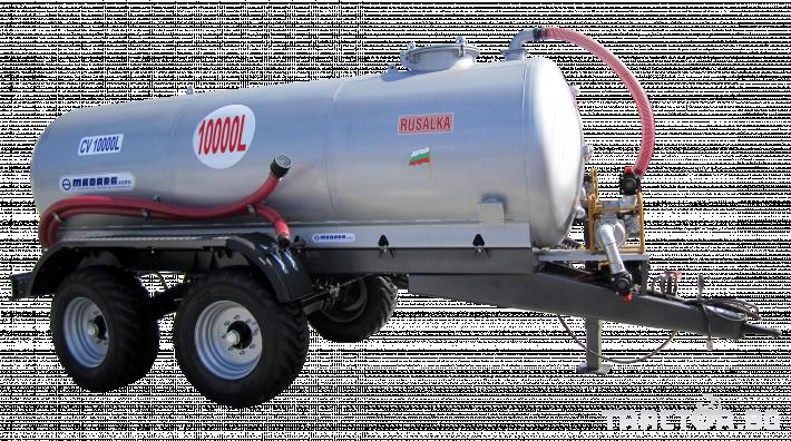 Ремаркета и цистерни Български CV10000, цистерна за вода, бензинова помпа/дизелова помпа 0