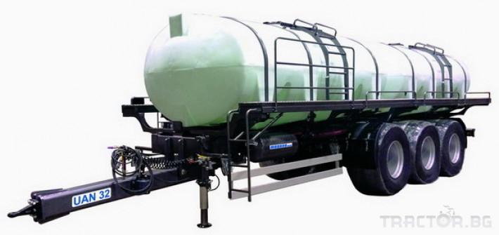 Ремаркета и цистерни Български UAN 32, цистерна за превозване на UAN 0 - Трактор БГ