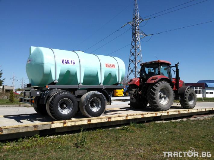Ремаркета и цистерни Български UAN16, цистерна за превозване на UAN 0 - Трактор БГ
