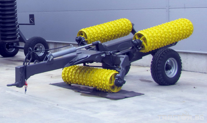 Валяци BXT 413, хидравличен валяк, тракторен, прикачен MADARA 3 - Трактор БГ