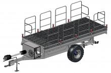 Ремарке с хидравлична платформа PX 01