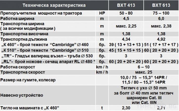 Валяци Български BXT613, тракторен, прикачен 2