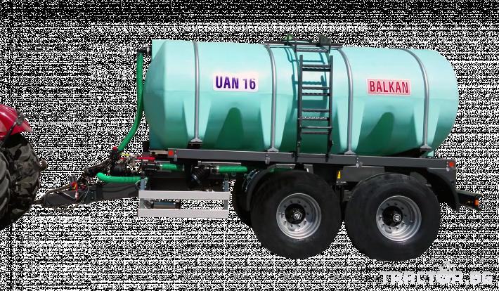 Ремаркета и цистерни Български UAN16, цистерна за превозване на UAN 2 - Трактор БГ