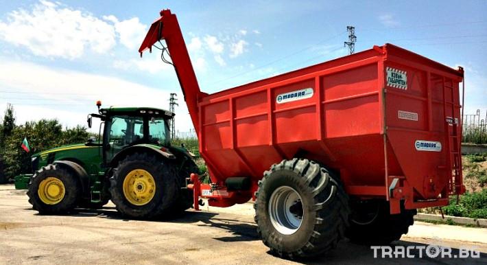 Ремаркета и цистерни БУНКЕР ЗЪРНОРАЗДАВАЧ COMPLEMENT SPK25 3 - Трактор БГ
