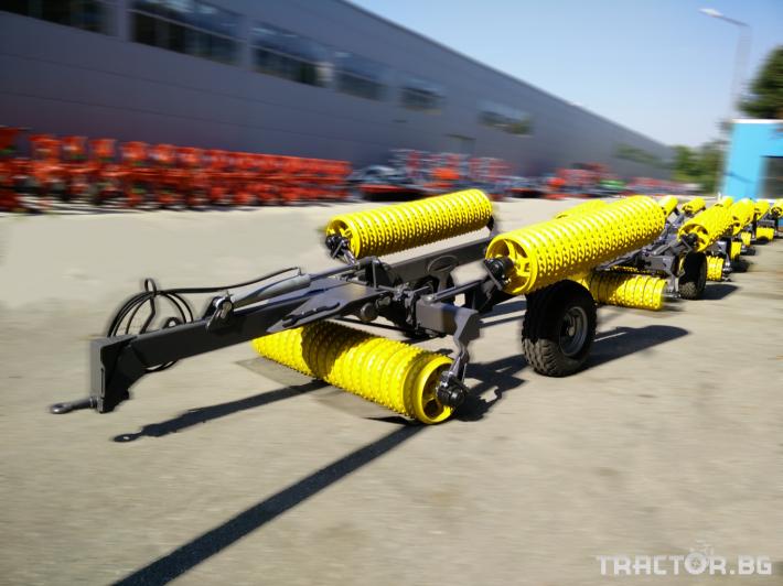 Валяци BXT 413, хидравличен валяк, тракторен, прикачен MADARA 0 - Трактор БГ