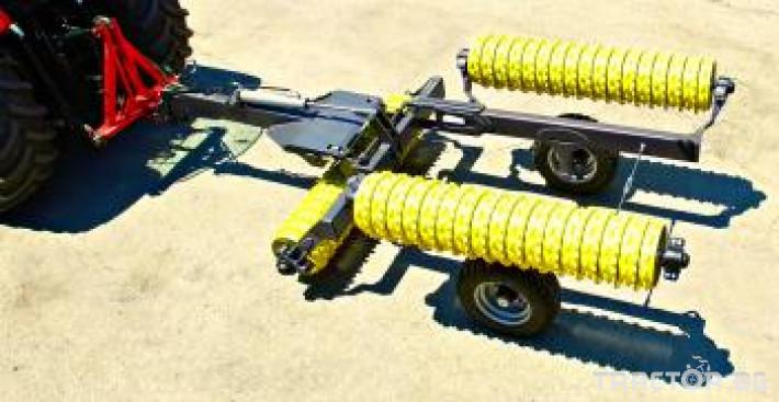 Валяци BXT 413, хидравличен валяк, тракторен, прикачен MADARA 4 - Трактор БГ